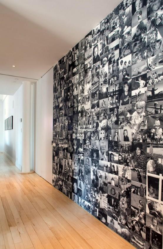 Evde Aile Fotoğrafları Tasarımı