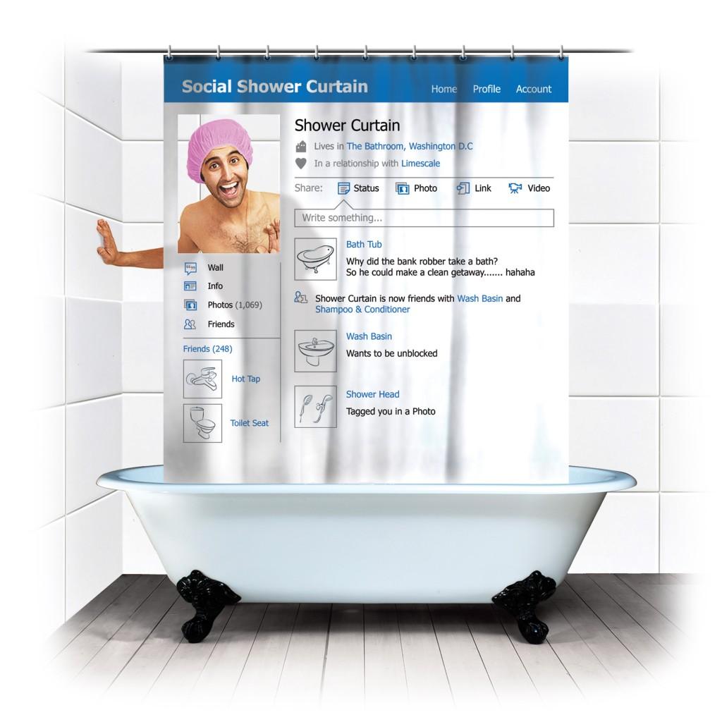 Komik Duş Perdeleri