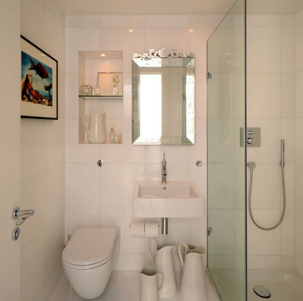 Banyo dolaplar dekorasyon for Interior decoration of small bathroom