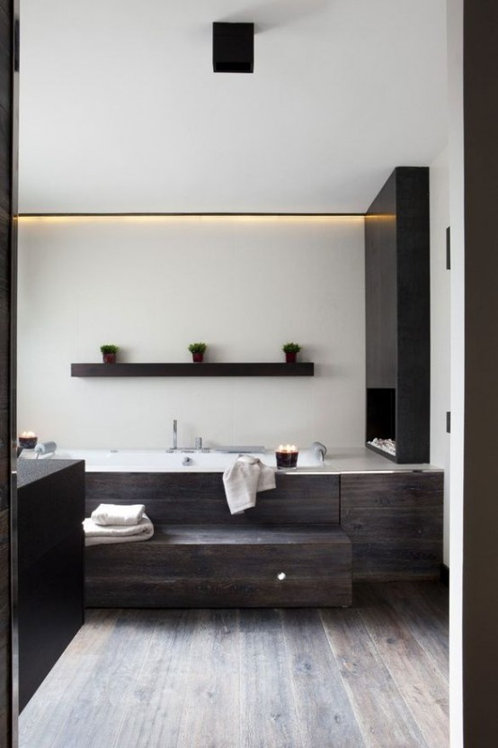 Ahşap Banyo Mobilyaları