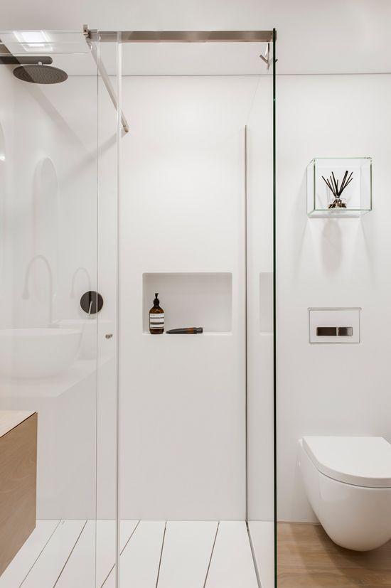 Beyaz Banyo Tasarımı