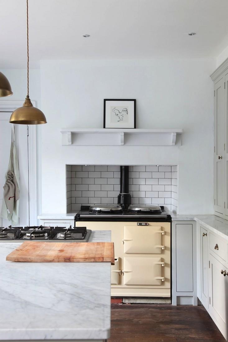 İngiliz Tasarımı Mutfak Dolapları Dekorasyon
