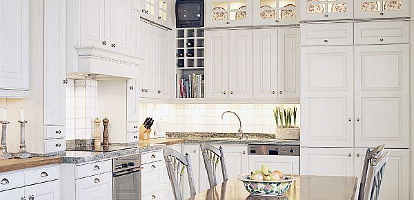 Beyaz Mutfak Tasarımları