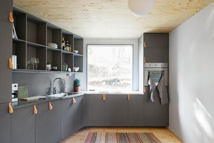 İskandinav mutfak dolapları dekorasyon