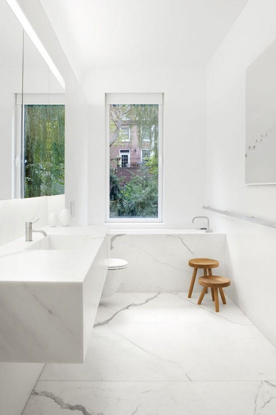 Mermer Banyo Tasarımı