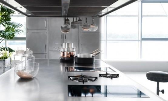 Paslanmaz Metal Mutfak Dolapları
