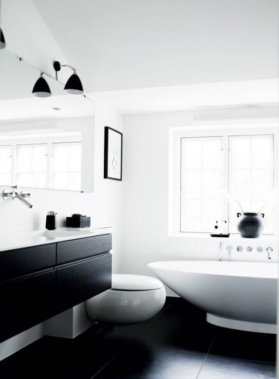 Siyah Banyo Dolabı