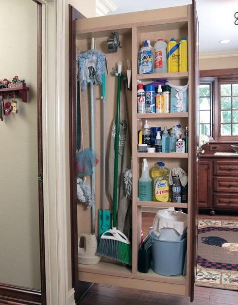 Temizlik Eşyaları Dolabı