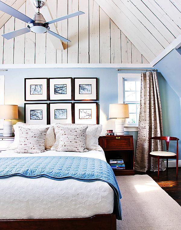 Mavi Yatak Odası Modeli