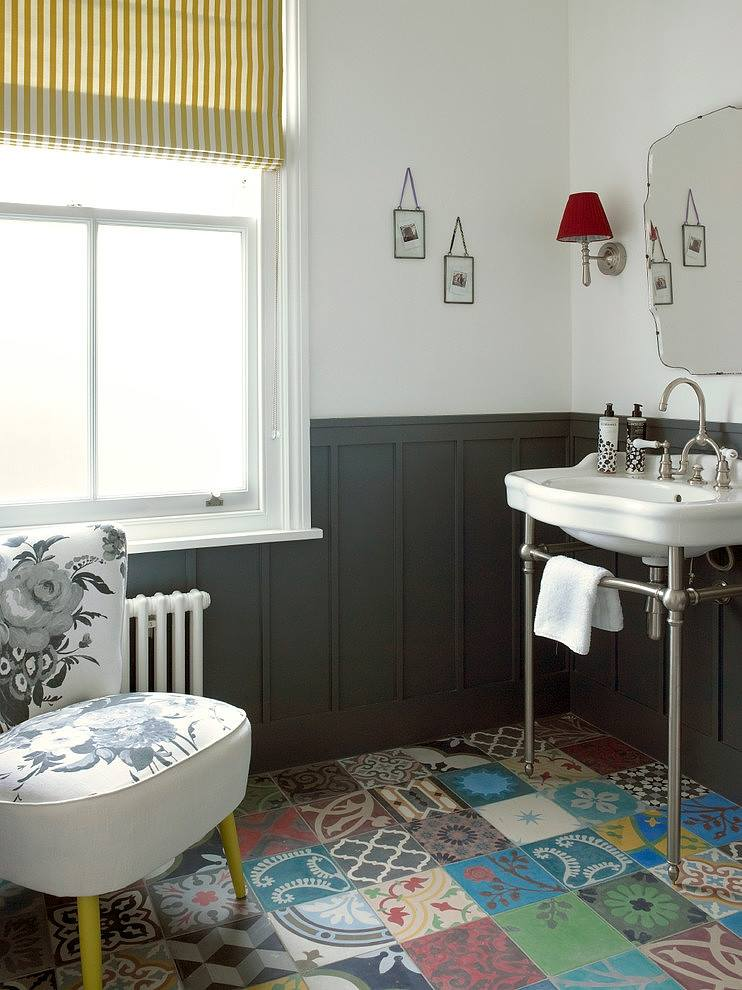 Patchwork Banyo