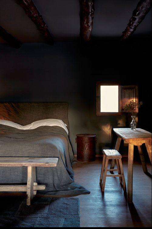 rustik-yatak-odasi