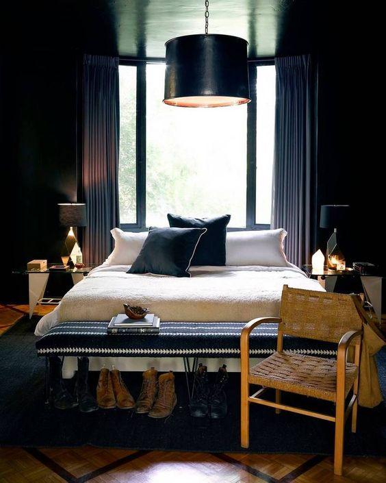 siyah-yatak-odasi
