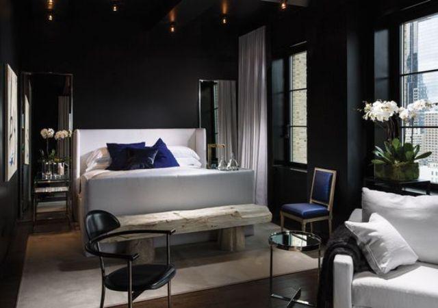 siyah-ve-beyaz-yatak-odasi
