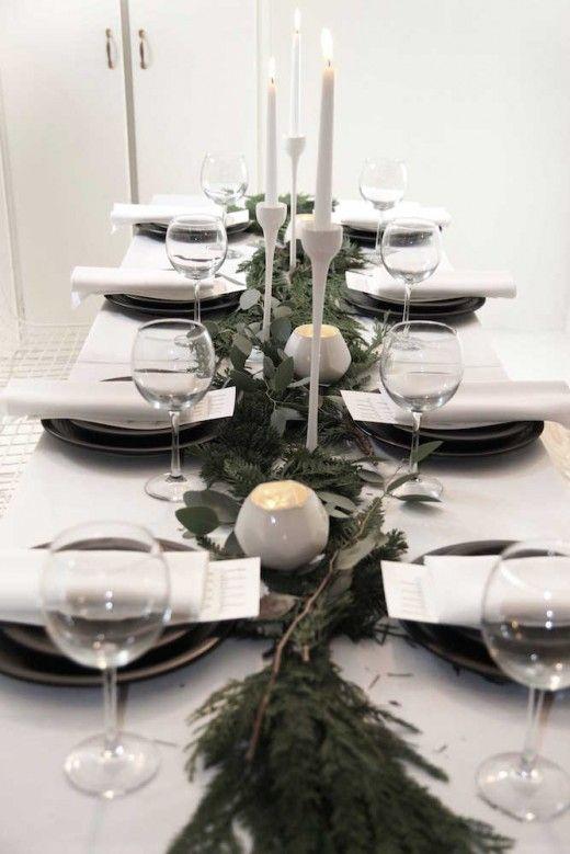 Yılbaşında sadece ağaç, şömine dekore etmiyoruz yılbaşı yemekleri de önemlidir ve böyle önemli bir yemeği güzel bir yemek masası tasarımının eşliğinde devam ettirmek bence açık olan iştahımızı ikiye katlayacaktır.