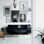 Siyah ve Beyaz Ağırlıklı Ev Tasarımı