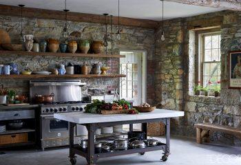 Rustik Mutfak Dekorasyon Fikirleri